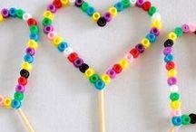 Hama beads / korálky