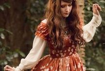 Fairy and Mori Lolita / Forrest creatures and cute threads