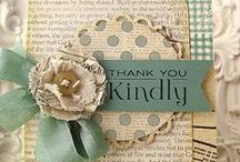 Cardmaking-Thank You / Free instructions to beautiful handmade Thank you cards.