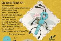 Cardmaking-Punch Art / Free instructions to fun handmade punch art characters & cards.