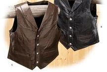 Leather / Mens Leather Clothing. Leather jackets, briefcases, laptop cases, backpacks, and luggage. All types of leather including cow, bison, lambskin, and water buffalo. Tons of different menswear for cowboys, motorcyclists, and traditional businessmen.