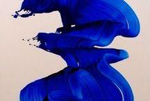 Yves klein / Blue blue blue