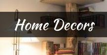DIY: Home Decors / Includes all DIY home decors, projects on a budget, ideas and more that will make your home or apartment more cozy and chic! Find all home decor styles from vintage, country, rustic, modern and tons more!