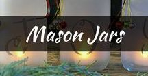 DIY: Mason Jars / The most loved and best diy mason jar crafts and projects, ideas to get you inspired. There are always mason jar gift ideas, centerpieces and decorations to keep you inspired!