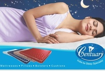Centuary India Advertisements / One of the leading mattress brands of India, Centuary provides a wide range of sleep solutions. Centuary's product range includes coir, foam and spring mattresses, fiber and foam pillows along with cushions and bolsters.