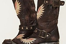 Fancy Shyt Kickers / Boots. Boots and more boots / by Jane Dotson