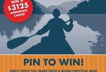 """Get On Board with Canoe Restaurant and Merrimack Canoes / Pin to Win! Win a canoe valued at $3,125 from Merrimack Canoes and Canoe Restaurant in Atlanta. Just pin the original """"Get On Board"""" image with contest rules to your own board titled """"Get On Board with Canoe Restaurant and Merrimack Canoes"""" and then design the rest of the board to represent what """"Life On The River"""" is to you. When done tweet a link to your board at @canoeatlanta and include the hashtag #GetOnBoard to finalize your entry.  / by Canoe Restaurant"""