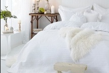 Wonderful White / Bedrooms dressed in classic, crisp, ethereal, and feminine styles. / by Everett Stunz