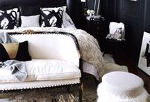 Black & White / Classic black and white decor from Feminine to Contemporary and Ultra Modern