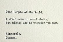 grammatical giggles