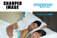 Response™  Sleep System by Sharper Image.  / Introducing the Response™  Sleep System by Sharper Image.This remarkable Sleep System is a fusion of the highest performing materials in the bedding industry. Response™ is an active sleep system that is designed to continually adjust, support and respond to you, your movements and your body's position while you sleep. / by Everett Stunz