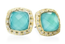 Turquoise and Tanzanite / The blue palette shows off its best looks with the December birthstones. Check out JIC's picks for our favorite turquoise and tanzanite pieces!