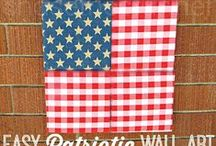 4th of July / The patriotic red, white, and blue rules here! These colors are in style year round.