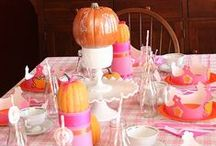 Parties : Pink Pumpkin Party