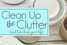 Organizing and Decluttering / Tips to organize and declutter closets, garages, home offices, kitchens, bathrooms and more.