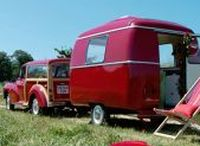 Caravaning / Sometimes called a trailer. Tow a box to your favourite destination for the perfect glamping!