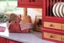 Kitchens & Dining Rooms / Country Primitive Kitchens & Dining Rooms / by Prim Mart