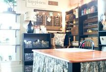 Craft Rooms Ideas / Decorating ideas for craft rooms.