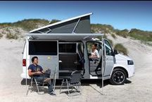 Campervan Living / Have car will travel. Oh, it also has a bed, fridge, cooker and the kitchen sink!