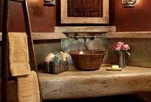 Bathrooms / Country Primitive Bedrooms / by Prim Mart