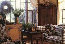Livingrooms / Primitive & Country Livingrooms / by Prim Mart