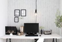 Home Office Design / You spend 23.75 hours per day in your office. Shouldn't your home office design be something that makes you smile? Whether you have a corner by the bed or a grand room, we've got home office design ideas for you.