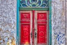 """Doors / """"Expose yourself to your deepest fear; after that, fear has no power, and the fear of freedom shrinks and vanishes. You are free"""" ~Jim Morrison"""
