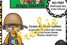 kindergarten freebies / Free Kindergarten Products