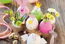 dekoracie,svietniky,vajíčka / Veľkonočne a vianočne dekorácie