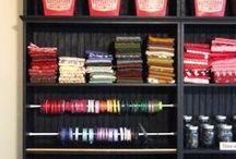 Crafts Room Ideas / graft room organization, design, decoration & ideas