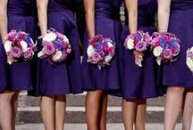 Lapis Wedding / Lapis purple is a great color for fall weddings. This deep, dark purple pairs well with lighter purple shades, like wisteria or lavender. For a splash of color, pair lapis with burnt orange, turquoise or spring green.