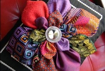 Crafty Necktie Ideas / Who knew there were so many uses for neckties!? Get crafty and re-purpose old ones so you can go out and get some new ones.