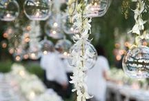 Garden Weddings / Inspiration for weddings among the flora and fauna.