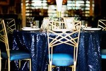 Trend: Metallics / Sparkle, glitter, metallic and shine: whatever you call it, this wedding trend is as bright as the sun!