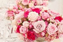 Color Palette: Pink & Gray / Pink & gray wedding inspiration.
