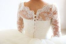 Lace Wedding Dresses / Lace wedding dress can be classic or modern, soft or stiff, intricate or airy.