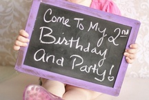 Birthday Party Invites / by Candy Salter-Hedrick