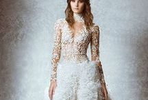Textured Wedding Dresses / Add some interest to your dress with textural details.