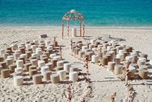 Beach Weddings / Inspiration for your ceremony by the sea.