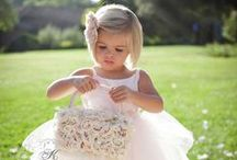 Ring Bearers and Flower Girls / Ideas for the littlest members of your bridal party.