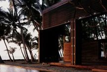 Asian Vacation House / This is dream board for my dream house.