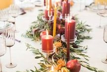 Fall Weddings / There's just something about the romance of Autumn - the slight chill in the air, the falling leaves - that makes a Fall wedding truly special. Find our favorite Fall wedding inspiration here.