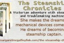 The Steamship Chronicles / Some things I needed to know for my YA Steampunk series which is an alt history based out of mid-1800s England.