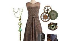 Steampunk Fashion / Steampunk art, jewelry & fashion