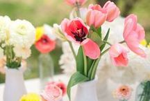 Spring Weddings / From receptions in the garden to ceremonies by the lake, check out our favorite ideas for hosting a fabulous spring wedding!