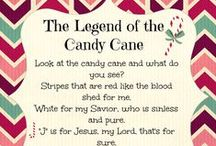 "Candy Cane Christmas / Fun Candy Cane themed crafts & ""yums"" to help us celebrate Christmas!  & to remember the story of Jesus told through the candy cane!"