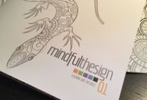 [mindful thesign] / limited-edition coloring books for adults - #mindfullness #coloring #relax