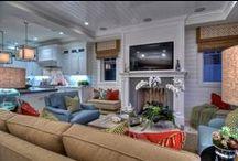 Tan Living Room Ideas / by Deana McGarr