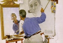 Artist: Norman Rockwell.. / by Denise Williams