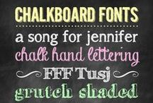 Font Love / by Mary Ashbaugh
